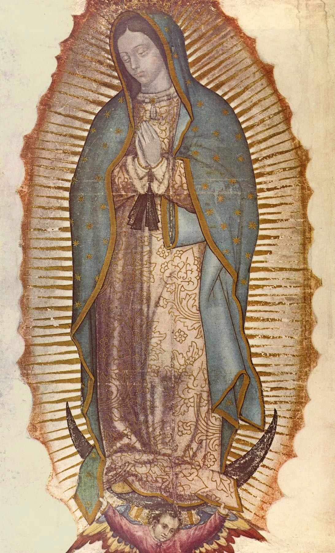 Muchas felicidades para la virgen mar a de guadalupe por el santo de la morenita del tepeyac - Images of la virgen de guadalupe ...