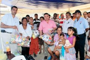Atiende Gobierno de Los Cabos a familias afectadas por incendio en El Caribe 2