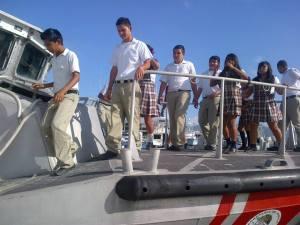 Suman esfuerzos Ayuntamiento y Sector Naval por los valores cívicos en adolescentes