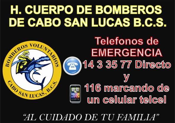 H.CUERPO DE BOMBEROS DE CABO SAN LUCAS