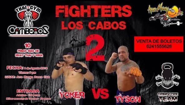 FIGHTERS 2 LOS CABOS THAI  GYM CAMBEROS