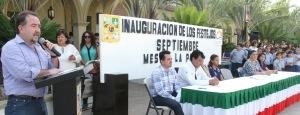 INAUGURA ANTONIO AGÚNDEz actividades del Mes Patrio en San José del Cabo