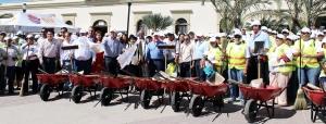 Abandera Alcalde JAAM programa de empleo temporal para 2 mil familias cabeñas 2