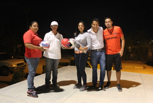 Compromiso del Gobierno Municipal mejorar las condiciones de los espacios deportivos Zumaya2