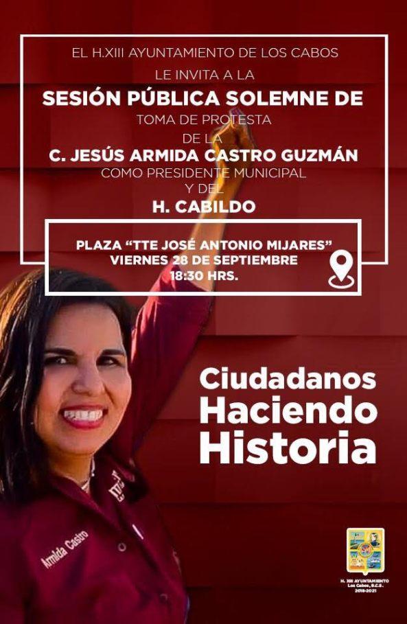 FOTO ARMIDA CASTRO INVITACIÓN